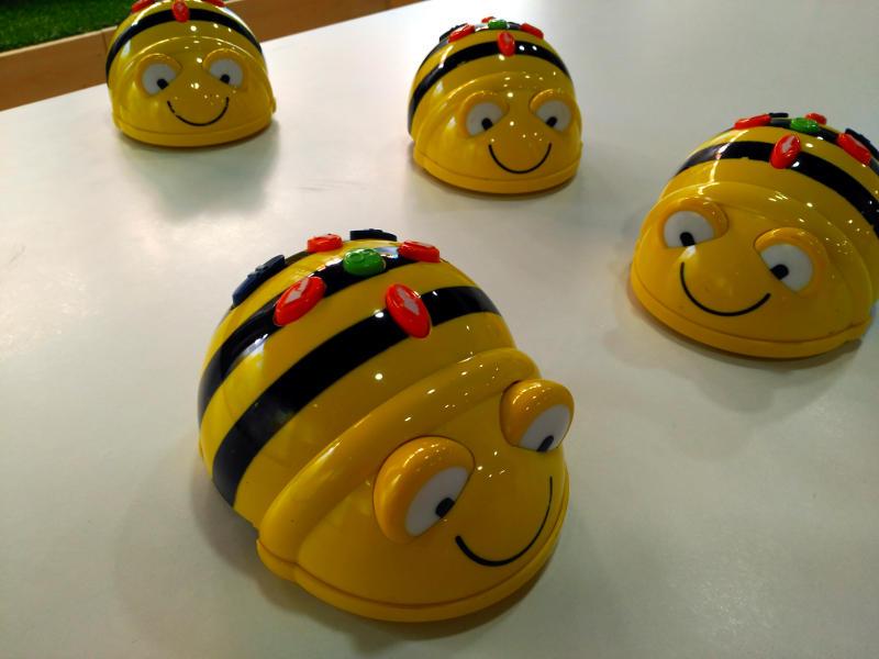 Bee Bot en el AERKIT Infantil