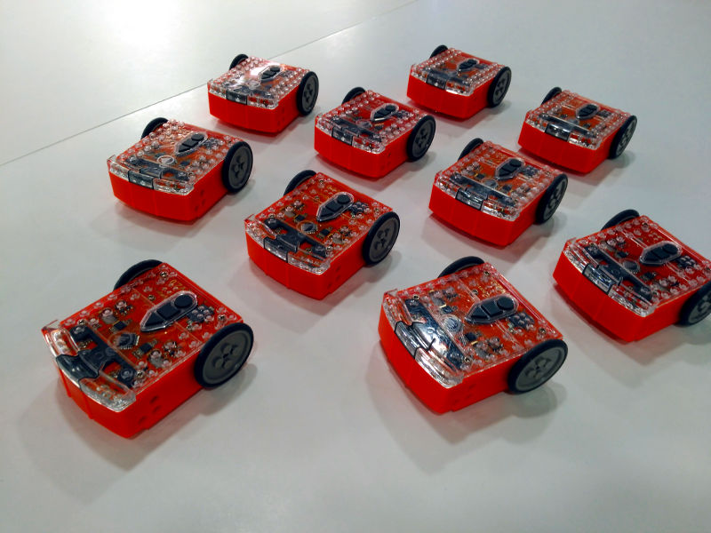 Robots Edision para el AERKIT Primaria